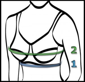 How to measure for a nursing bra